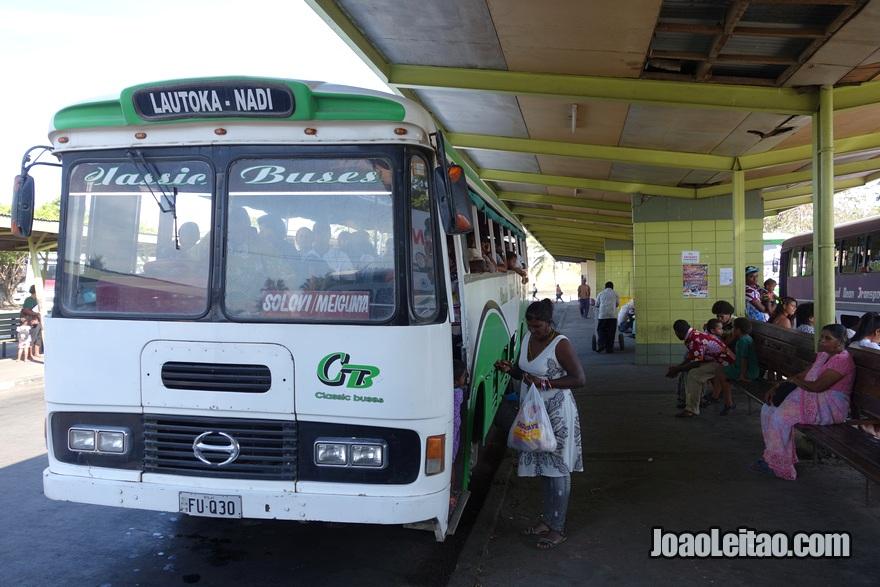 Estação de autocarros (ônibus) em Nadi