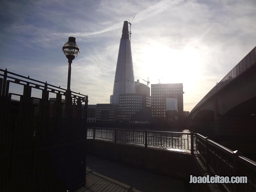 Arranha-céus Shard London Bridge em Londres