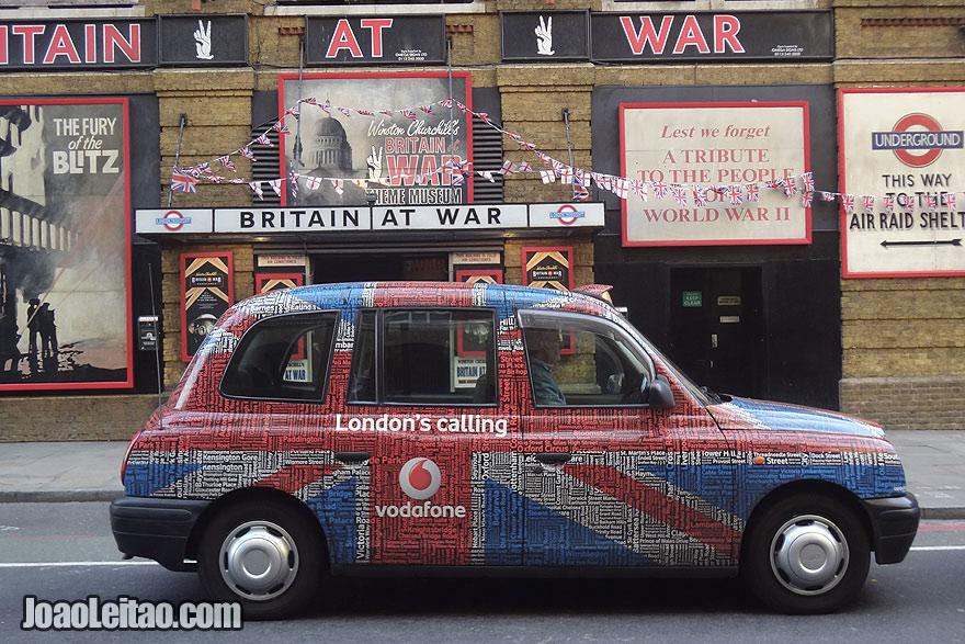 Taxi em Londres