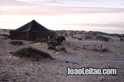Tenda da Imigração Mauritana