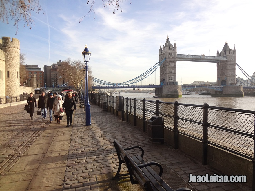 Vista da Torre da Ponte (Tower Bridge)