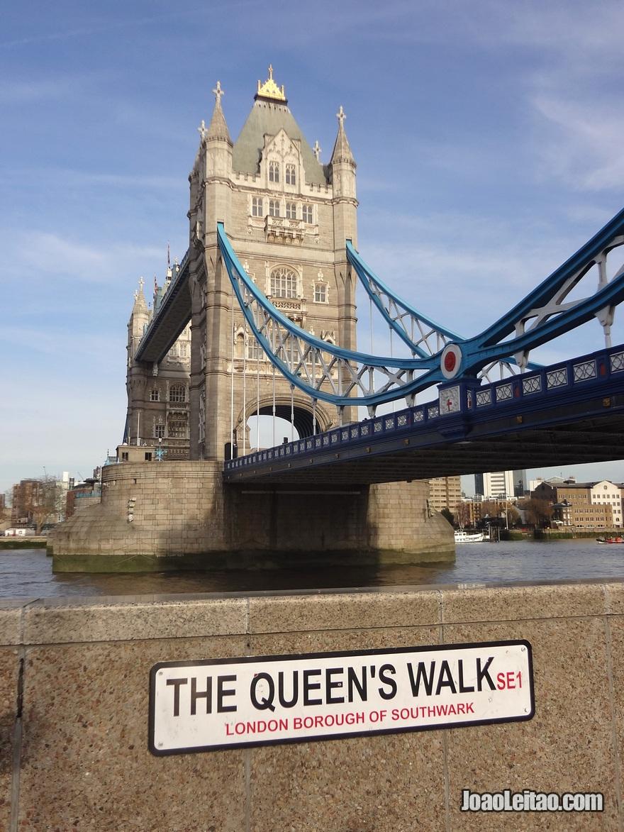 Torre da Ponte também conhecida comoTower Bridge