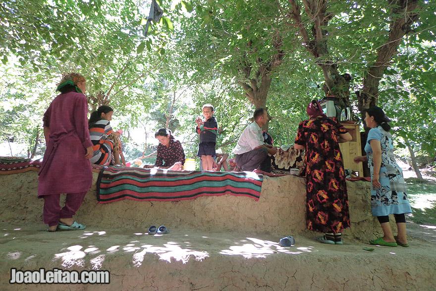 Casa de uma família em Ukhum