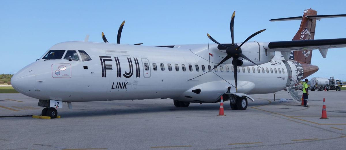 Viajar de Aviao nas Ilhas do Pacifico