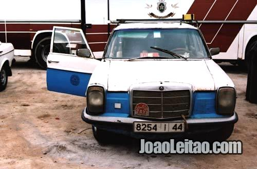 Táxi de Bojador até Dakhla