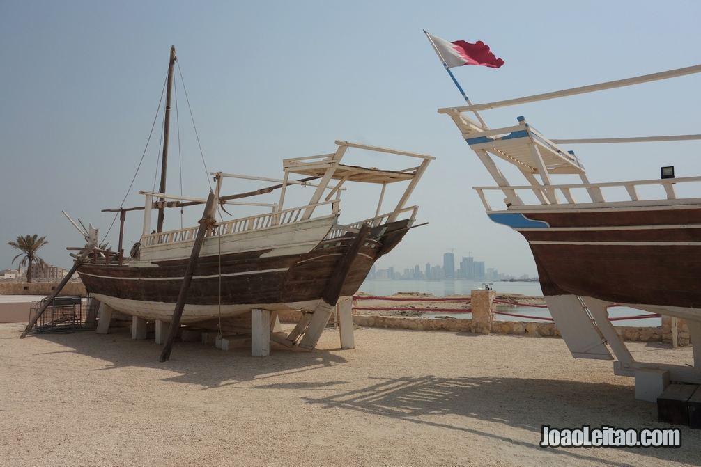 Barcos tradicionais em Doha, Visitar o Bahrein