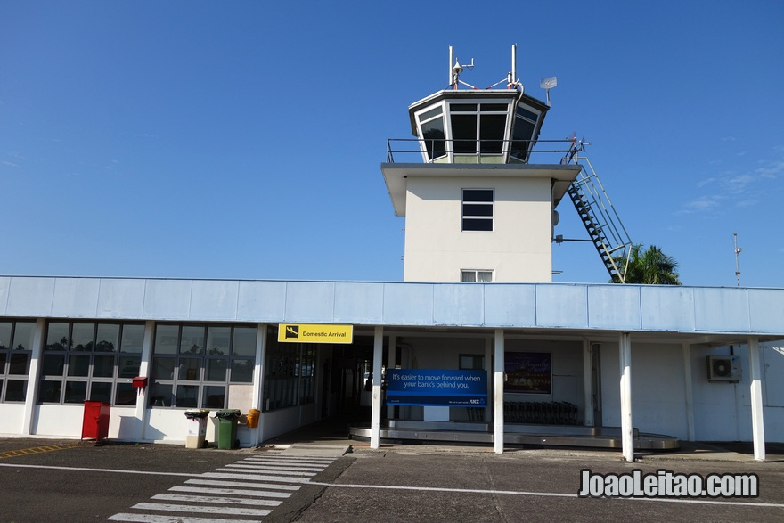 Suva Nausori Airport nas Ilhas Fiji