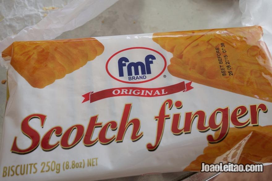 Provar os biscoitos Scotch Fing, sem dúvida os meus preferidos