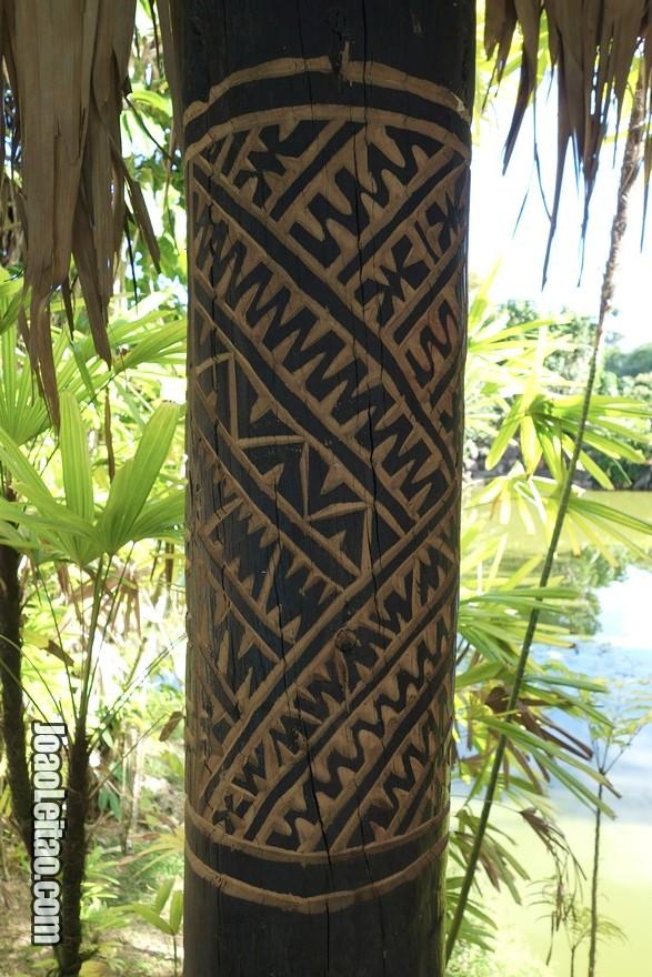 Aprender um pouco sobre os padrões ritualísticos fijianos