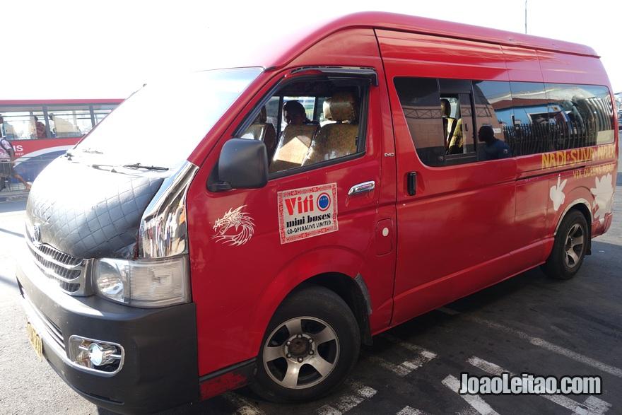 Transporte desde Pacific Harbour até Suva nas Ilhas Fiji