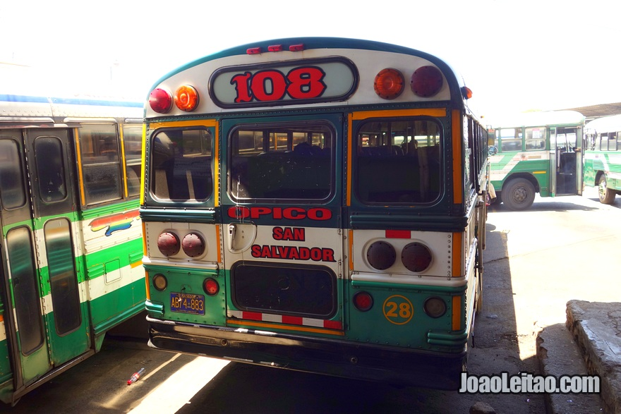 Autocarro San Salvador até Joya de Cerén, El Salvador