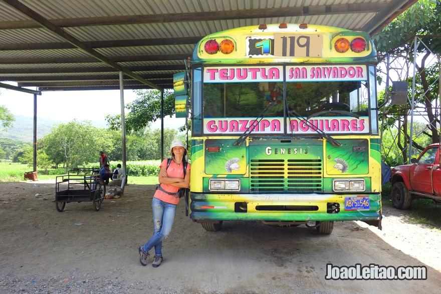 Autocarro El Poy até Aguilares, El Salvador