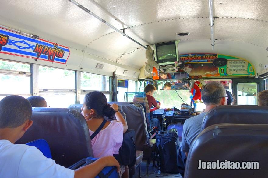 Autocarro Aguilares até Sochitoto, El Salvador