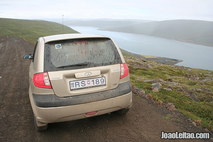 Conduzir na islandia
