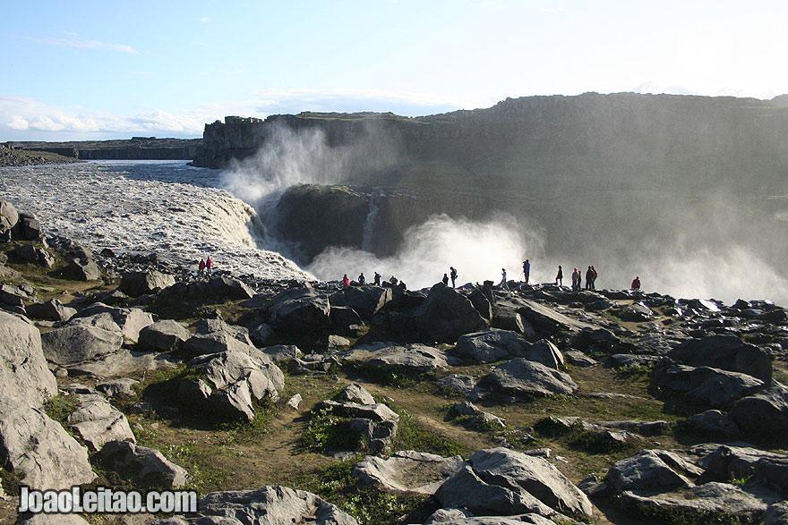 Quedas de água Dettifoss, Islândia