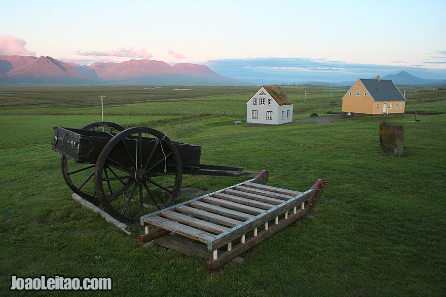 Glaumbaer, a histórica quinta de turfa