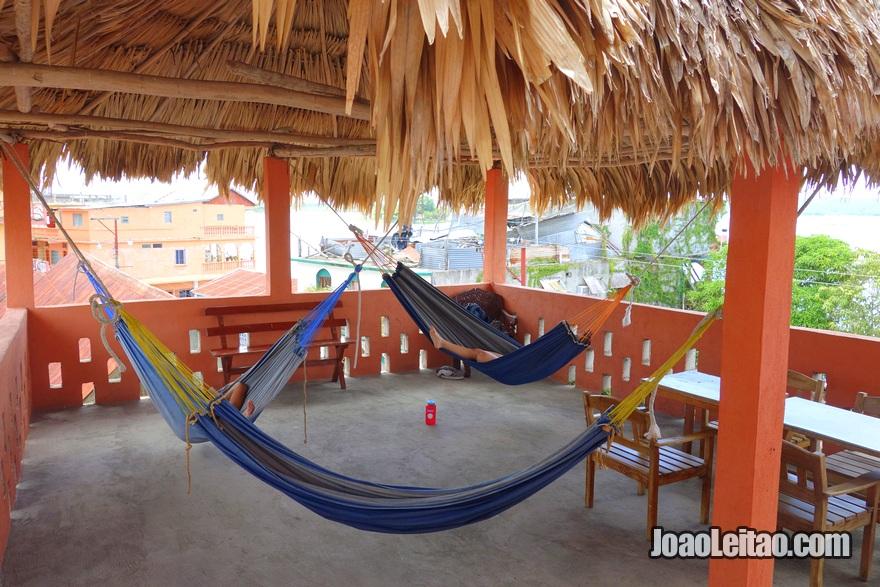 Terraço no Hotel Hospedaje Dona Goya em Flores