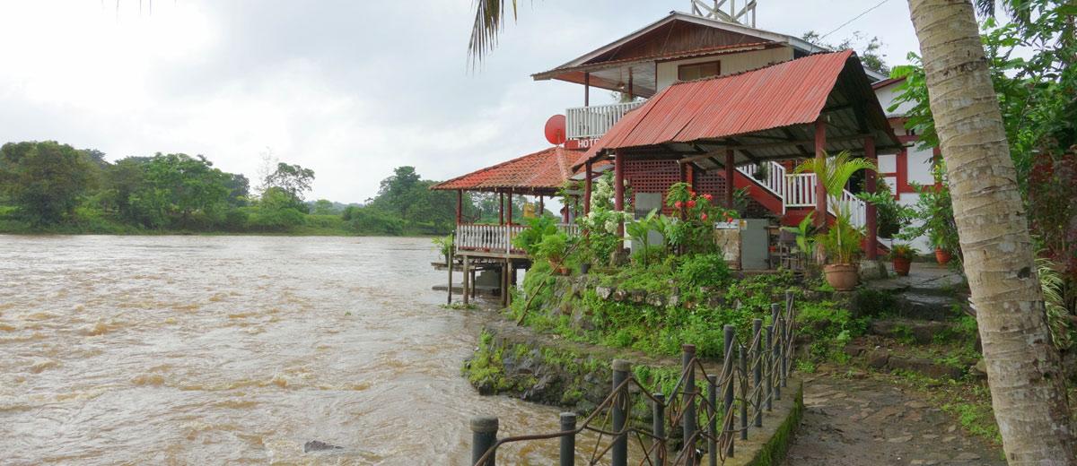 Hotel Tropical em El Castillo, Nicarágua