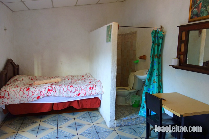 Quarto do Hotel Posada Blanca Luna em Sochitoto, El Salvador