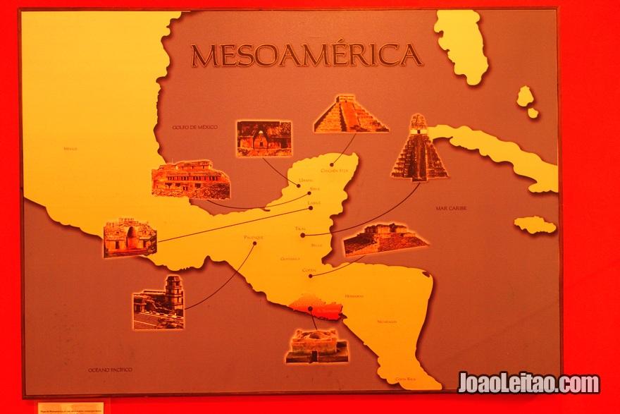 América Central pré-hispânica no museu de Joya de Cerén