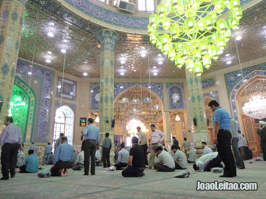 Mesquita Jamkaran em Qom no Irão