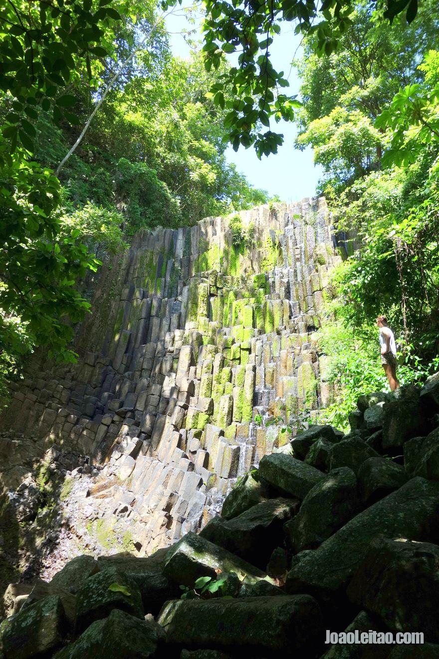 Cascata Los Tercios perto de Suchitoto