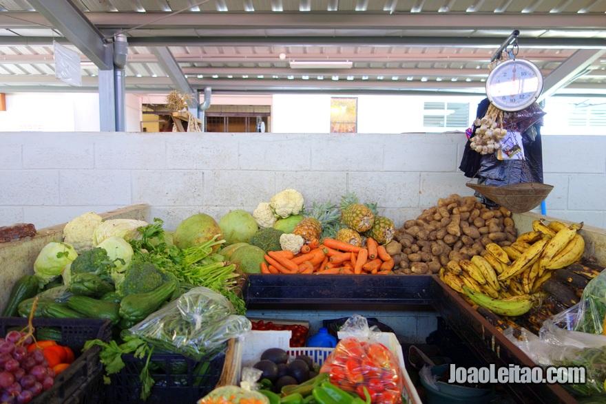 Mercado de verduras de Suchitoto