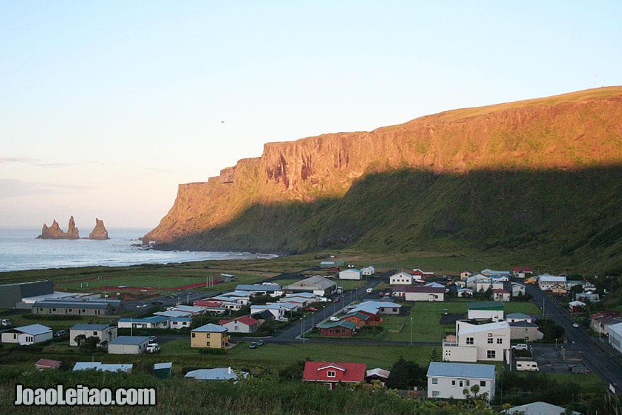 Vik, a aldeia mais a sul da Islândia
