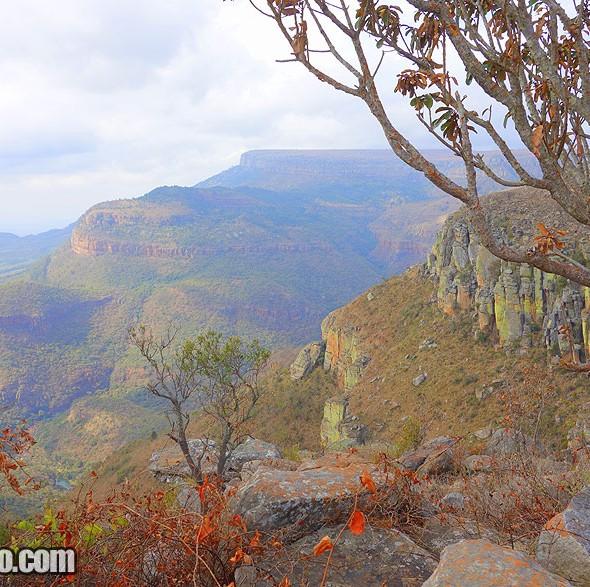 Reserva Natural Blyde River Canyon na África do Sul