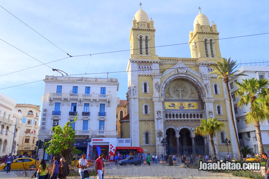 Catedral de Saint-Vincent-de-Paul de Tunes