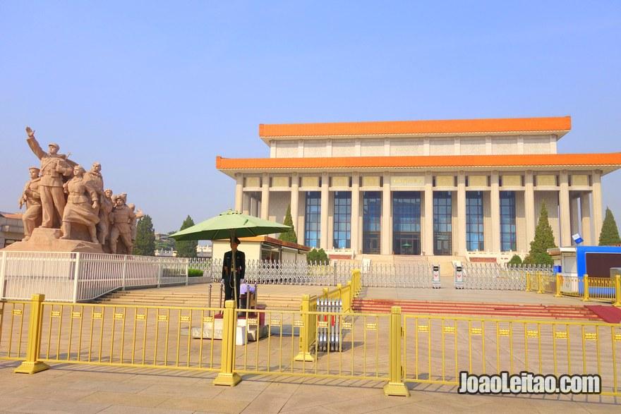 Mausoléu de Mao Tsé-Tung