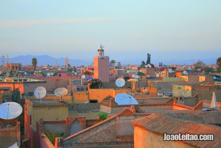 Foto da Medina de Marraquexe