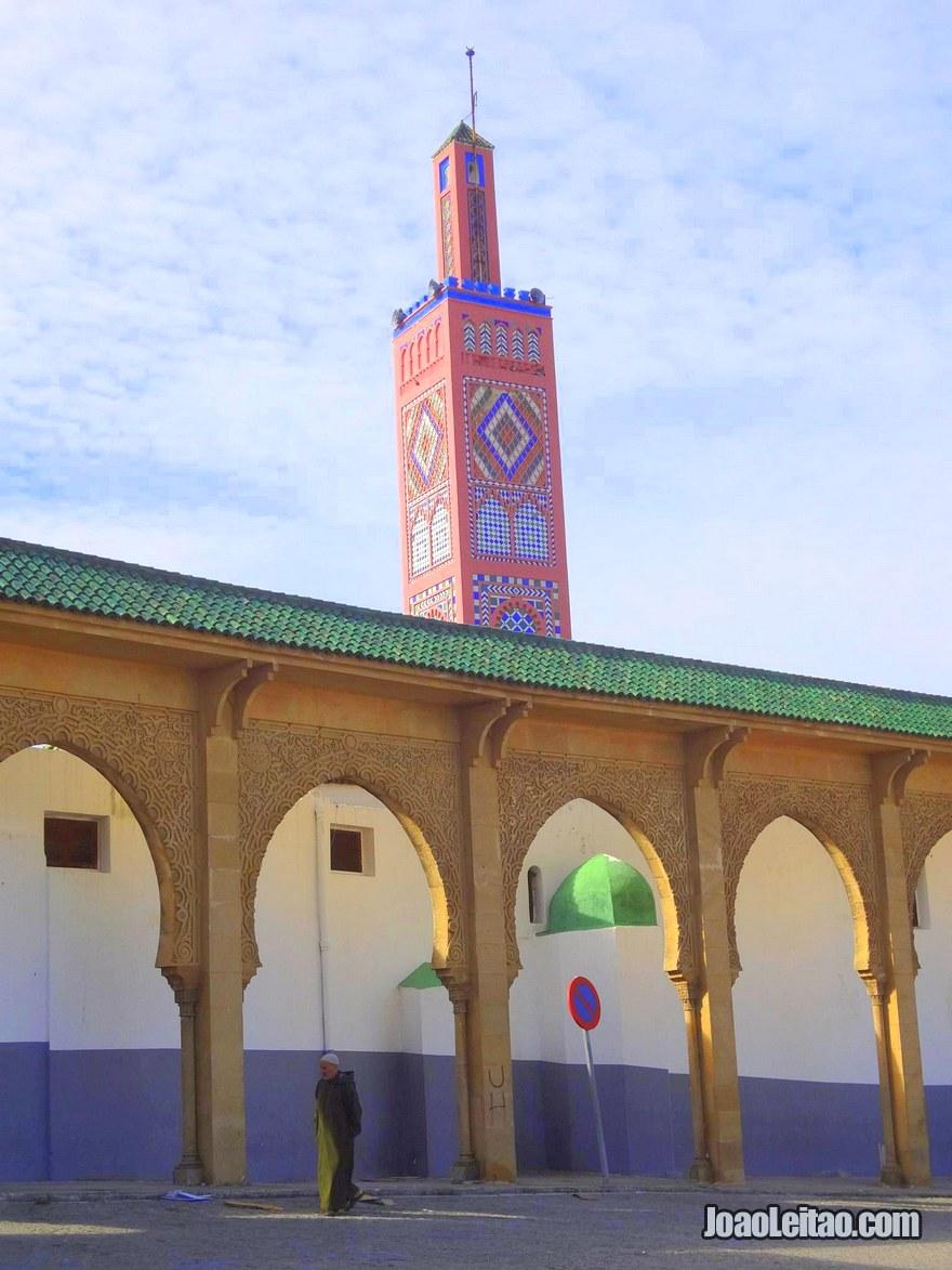 Foto da Mesquita Rosa em Tanger