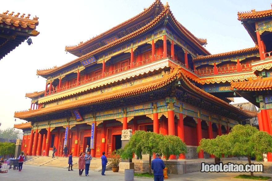 Foto do Templo dos Lamas