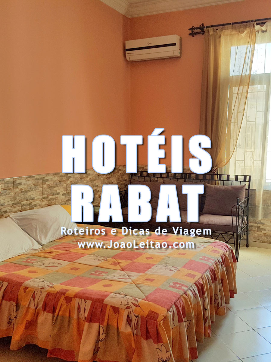 Hotéis em Rabat, Alojamento barato na capital de Marrocos