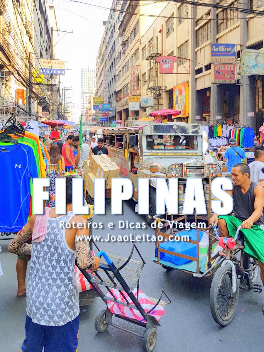 Visitar Filipinas – Roteiros e Dicas de Viagem