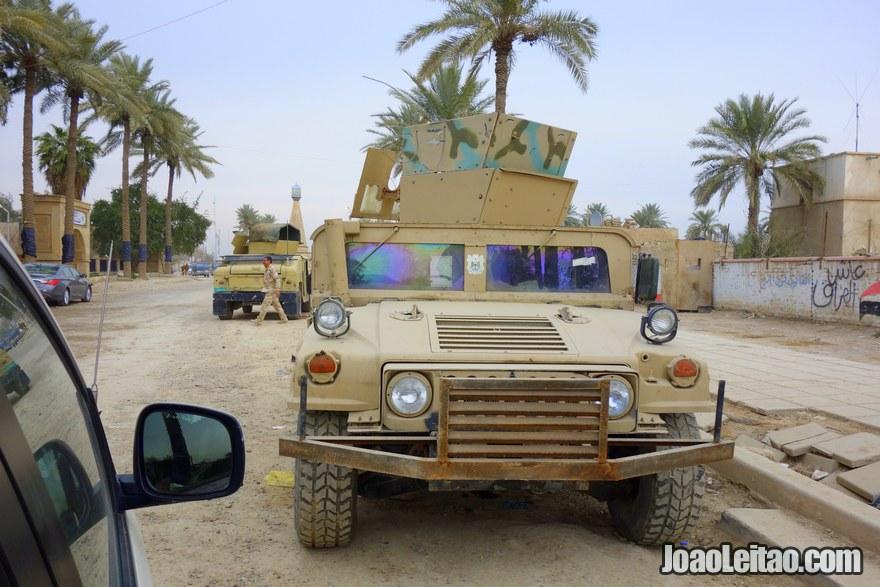 Viajar no Iraque, país em guerra