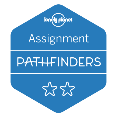 Lonely Planet Pathfinders Blogger