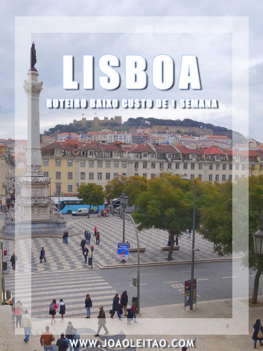 ROTEIRO BARATO EM LISBOA