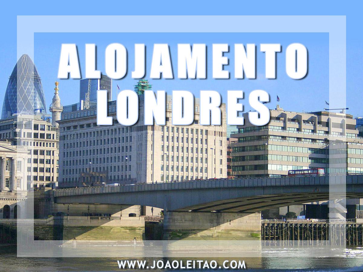 ALOJAMENTO EM LONDRES
