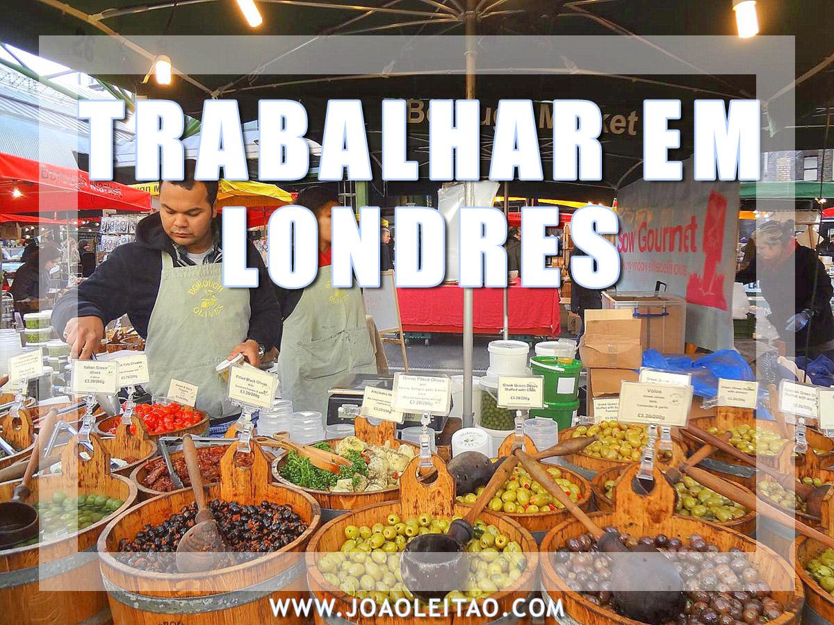 ARRANJAR TRABALHO EM LONDRES