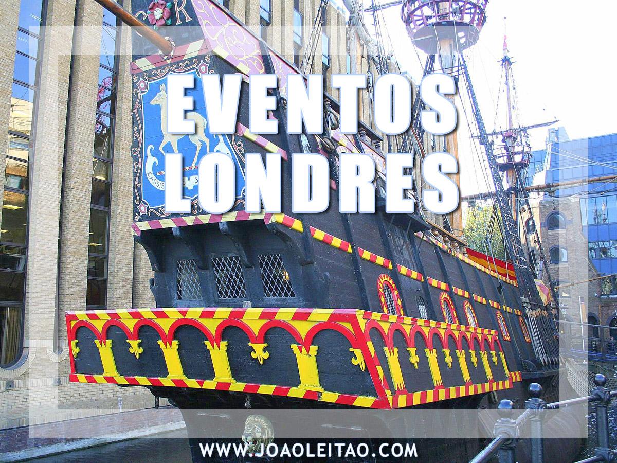 EVENTOS EM LONDRES