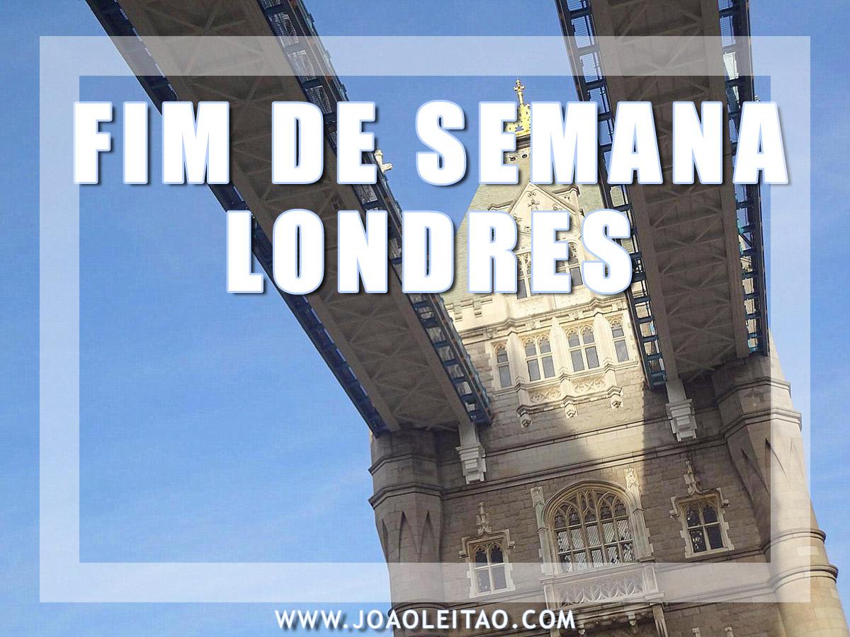FIM DE SEMANA EM LONDRES