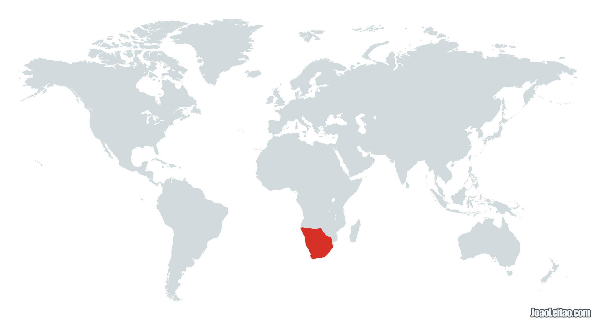 MAPA AFRICA AUSTRAL