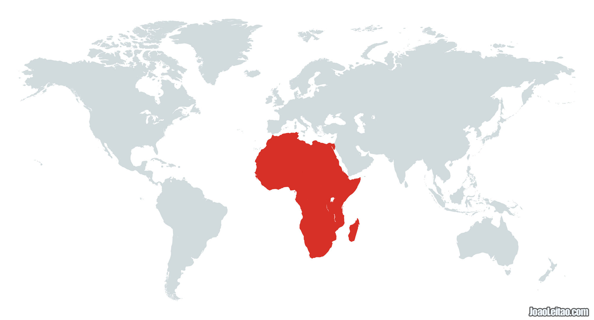 MAPA AFRICA CONTINENTE
