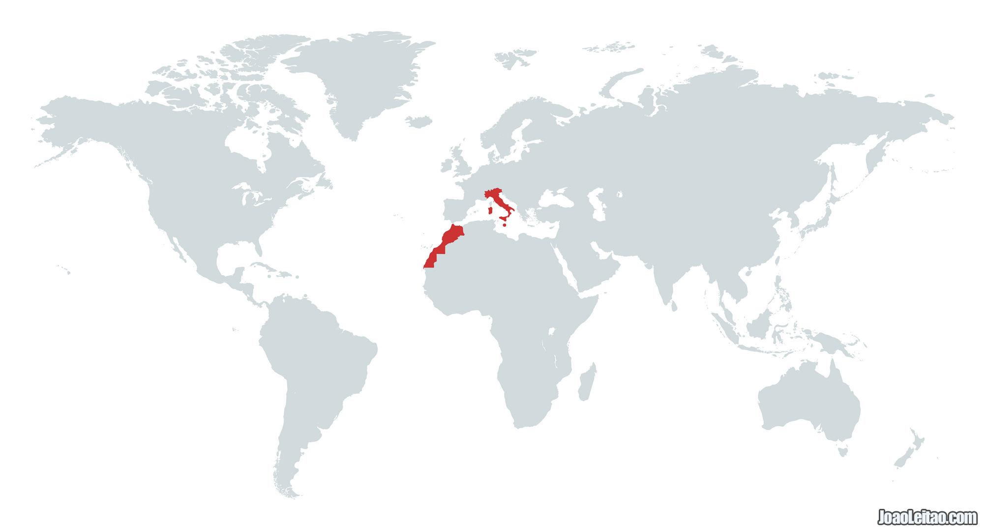MAPA VIAGENS 2010