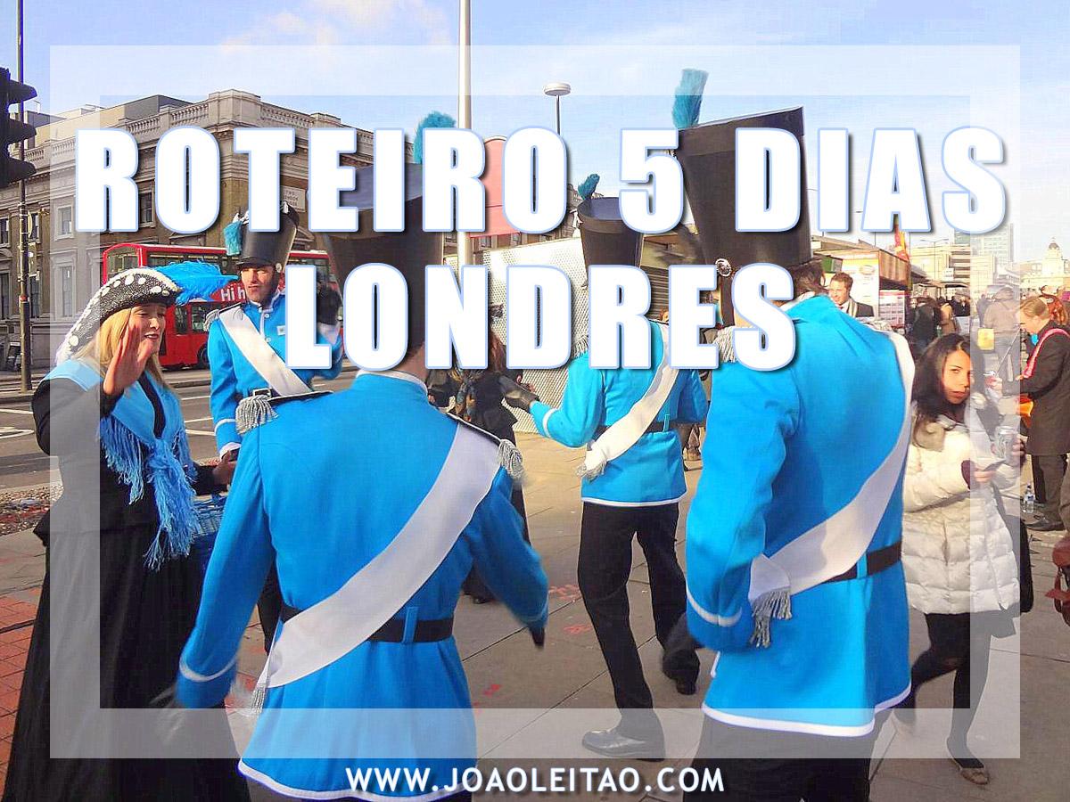ROTEIRO 5 DIAS EM LONDRES