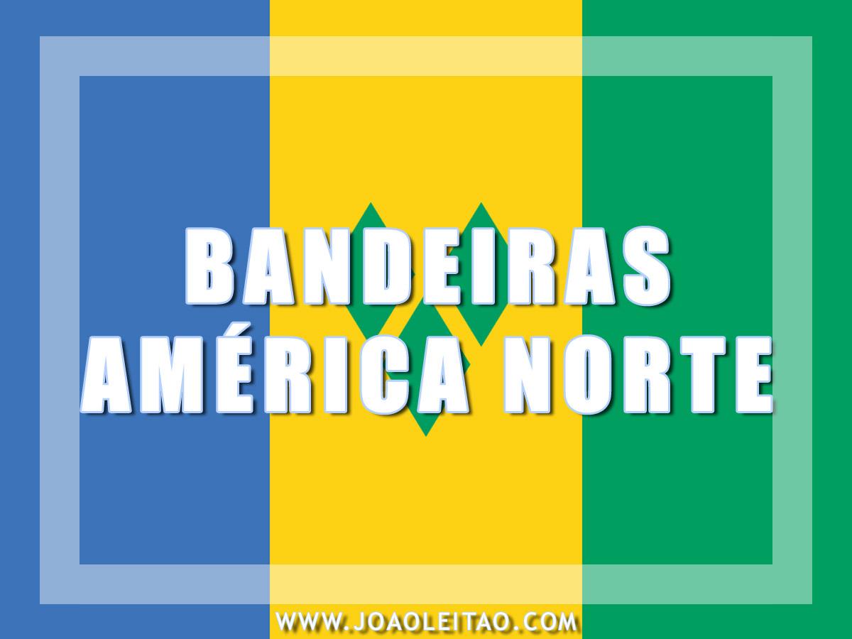 BANDEIRAS AMERICA DO NORTE