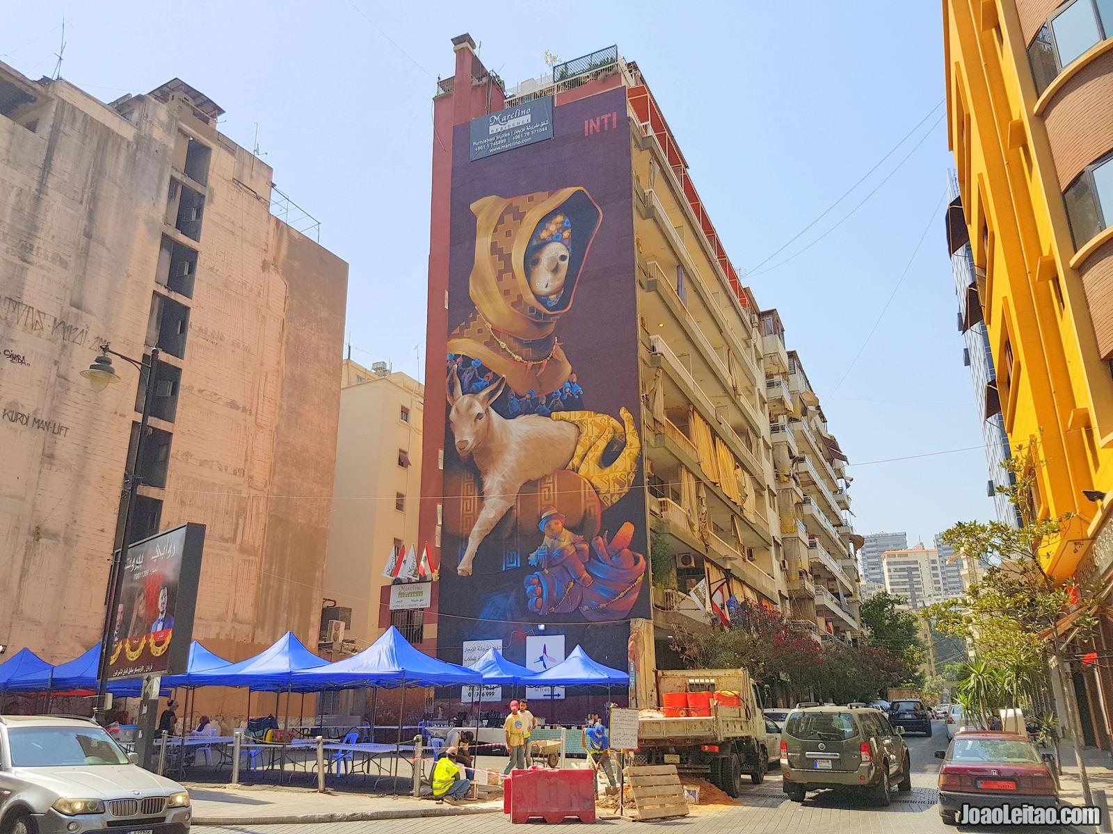 FOTO DE BEIRUTE NO LIBANO