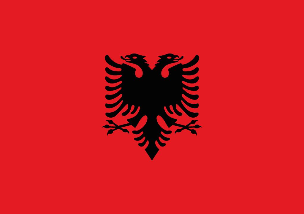BANDEIRA ALBANIA
